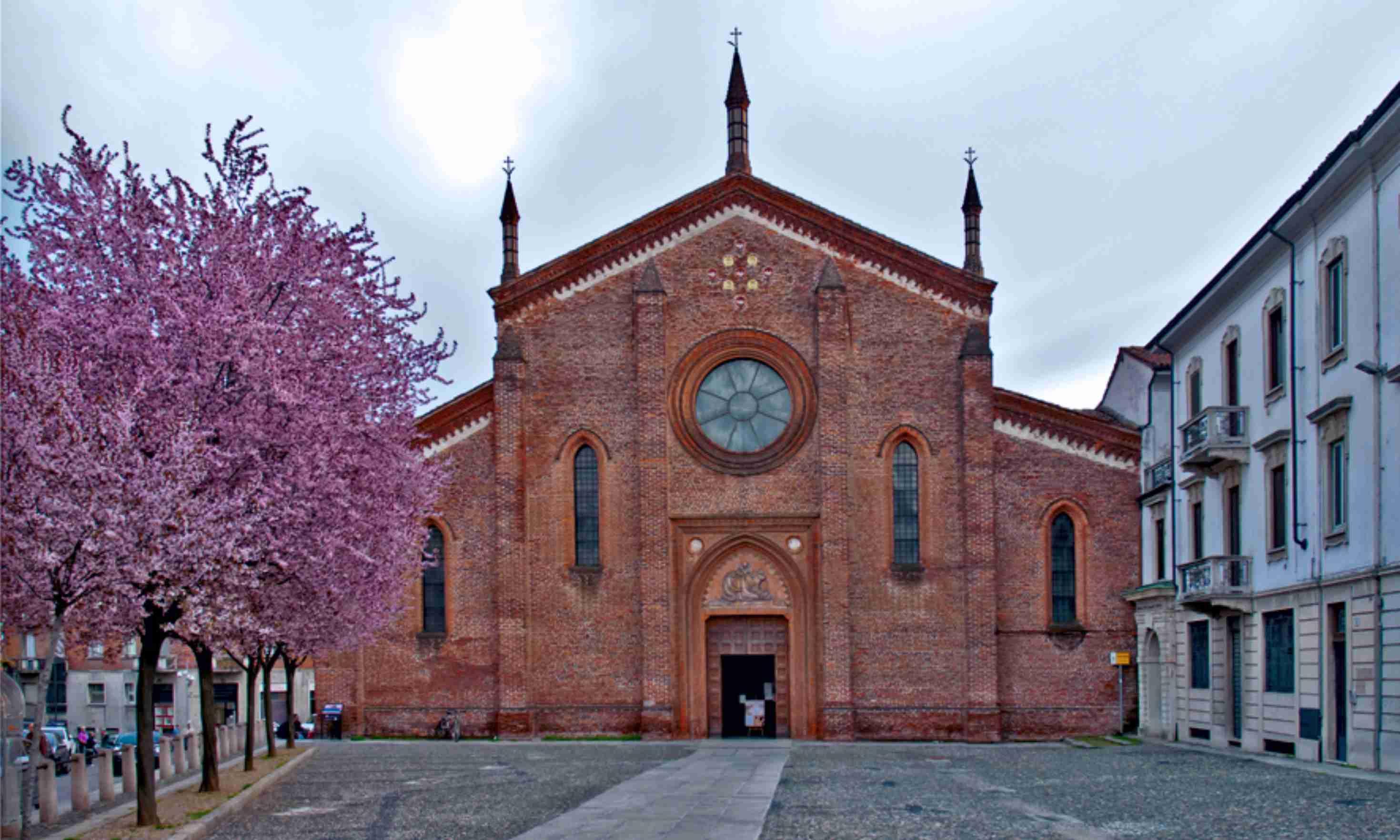 Chiesa di S Pietro Martire Vigevano detta anche Chiesa del Beato Matteo